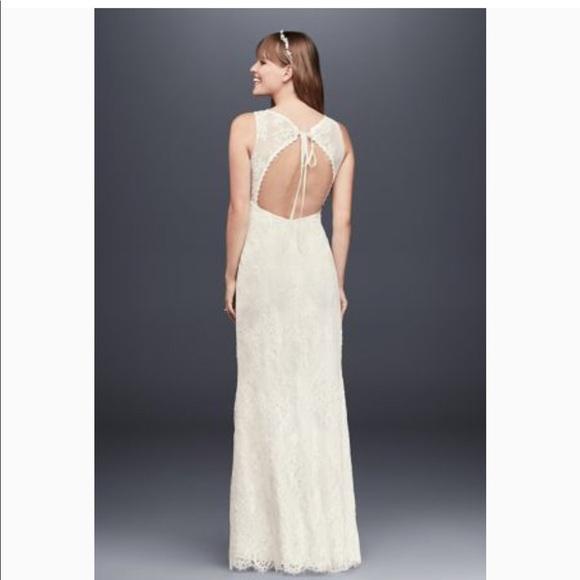 d748ea32a9 Flower Lace V-Neck Wedding Dress with Empire Waist. Galina.  M_5bb2a00d3c9844340747cee5. M_5bb29dd2c9bf50675a9a427c.  M_5bb29dd63e0caa3403776b78